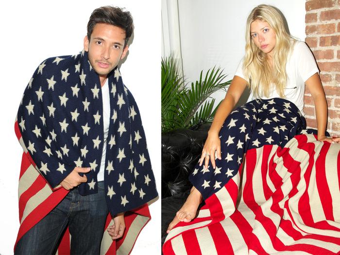 The Votary / Classic Blanket (VNY1014 Flag Blanket)