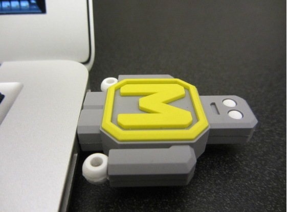 USB memory Example, non DevoBot version.