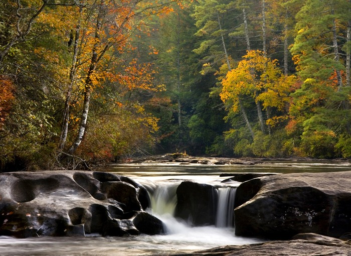 Dick's Creek Ledge - The Chattooga