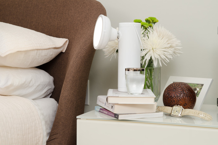 The M Lamp is a true companion around the house