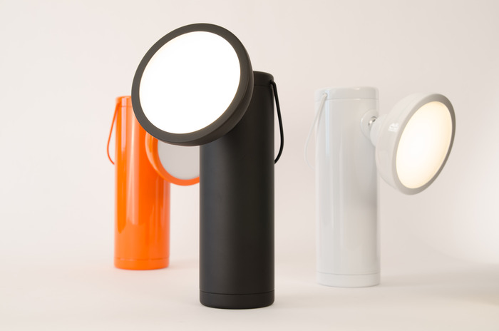 Full of energy – the M Lamp+ can run 12 hours without a charge