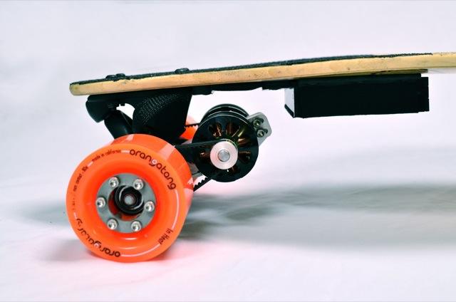 Boosted Boards drivetrain