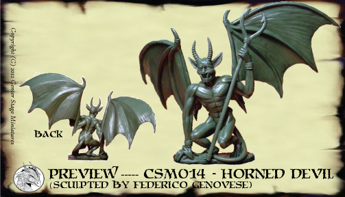CSM-014 - Horned Devil, By Federico Genovese