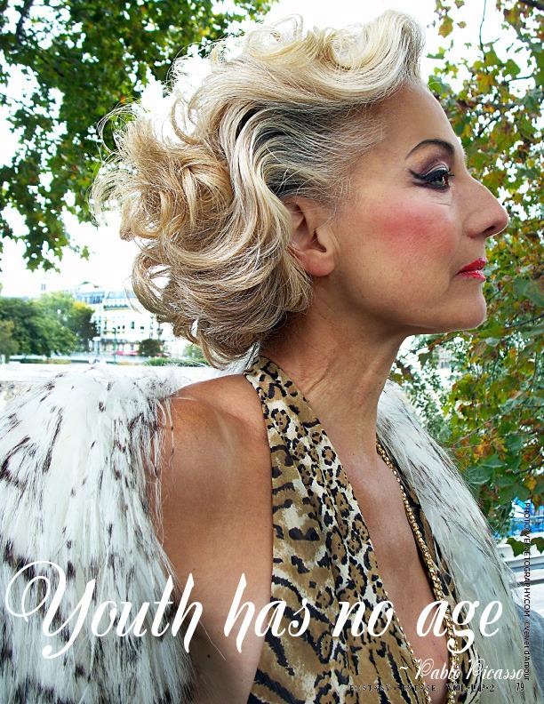 Master's model shot by Velvet d'Amour for VOLUP2 Magazine