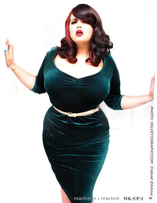 Georgina Horne shot by Velvet d'Amour for VOLUP2 Magazine
