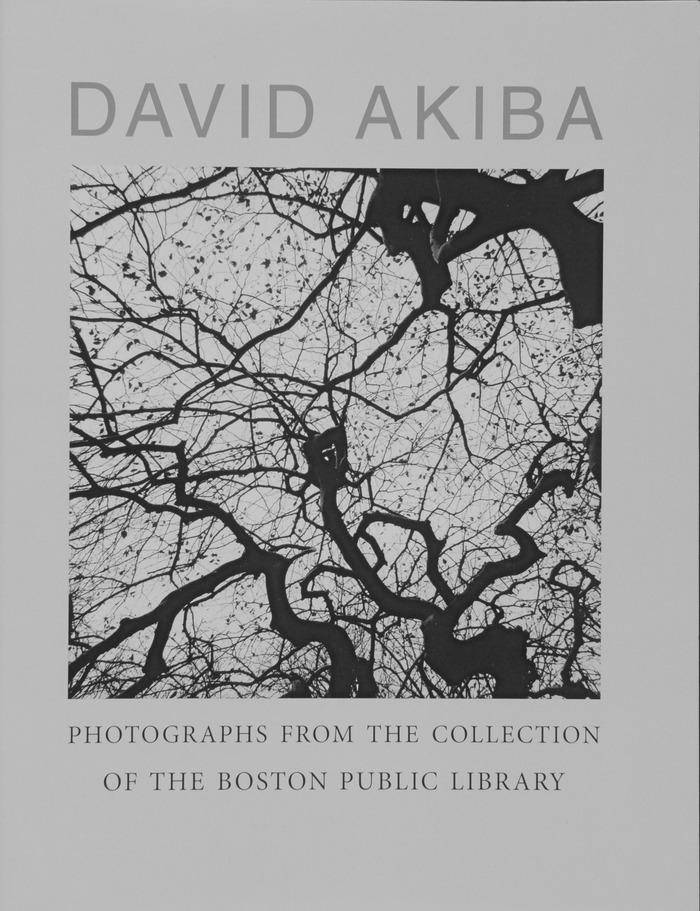 cover of Boston Public library catalogue