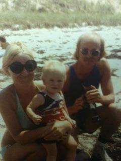 Liberty with her parents, circa 1971