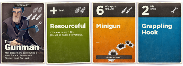 An example Ability Deck. Have a card dedicated to you at the LOOSE CANNON funding level… (Design is not final)