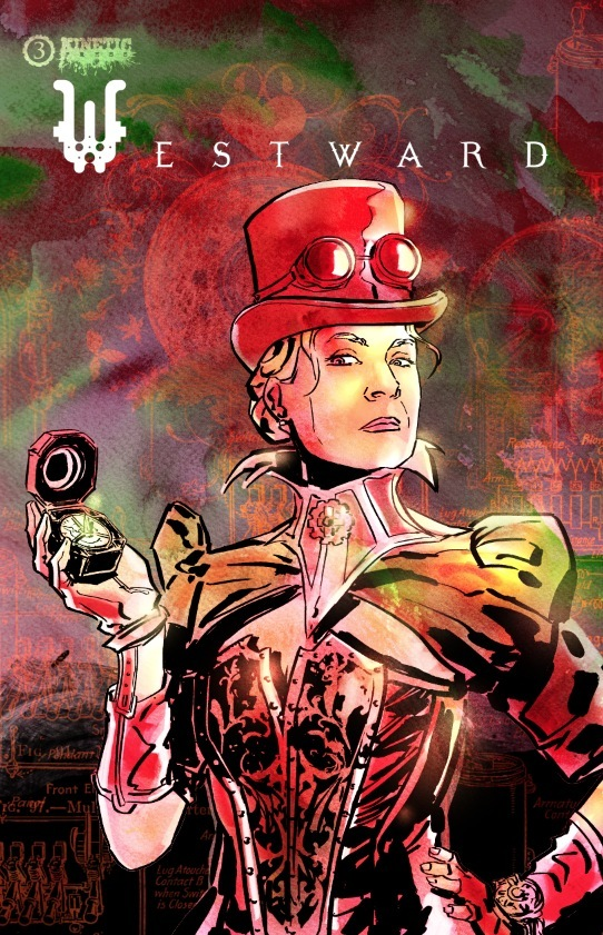 Cover image for Westward #3