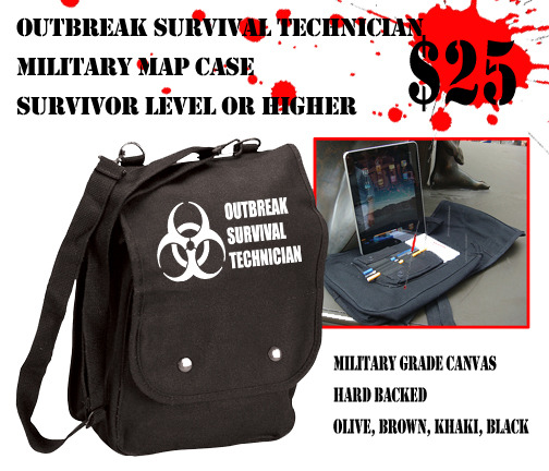 Any Survivor level pledge can add up to 4 of these awesome bags by adding +25$ each to the pledge.