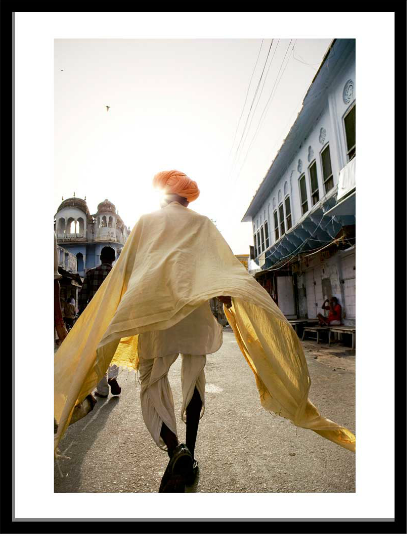 'Sardu in the holy city of Pushkar, India' © Jason Florio
