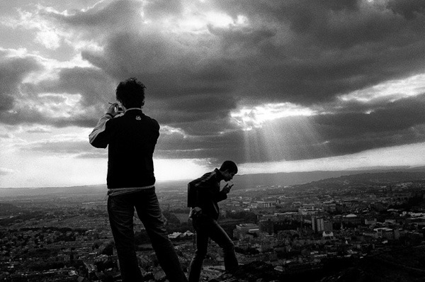 Arthur's Seat, Edinburgh, Scotland, 2005. From UNPOSED.