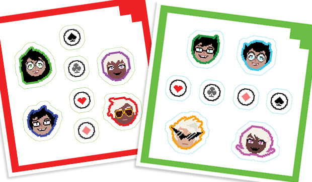 Unlocked at $1,500,000: Alpha + Beta Kids shipping stickers (2 sheets) will be added to all tiers $105 and above.