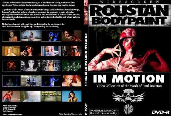 Roustan Body Paint: In Motion DVD