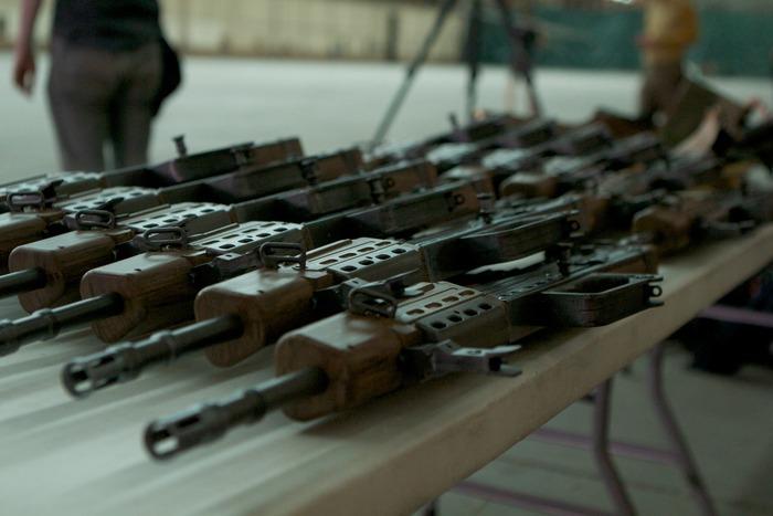 Custom Made Full Size Model Weapons, Used In The Film!