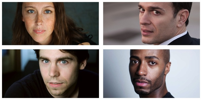 Kendra, AJ, Mar and Dwayne (Cast: Julia Kelly, Chris Daftsios, Ryan Redebaugh & John Anthony)