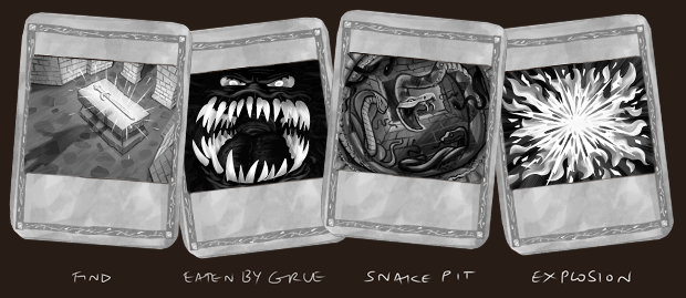 """Our goal is to add as many """"Action Cards"""" as we can to enhance your saved quest legends!"""