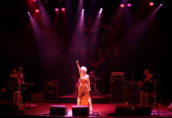House of Blues Performance, September 13th 2012