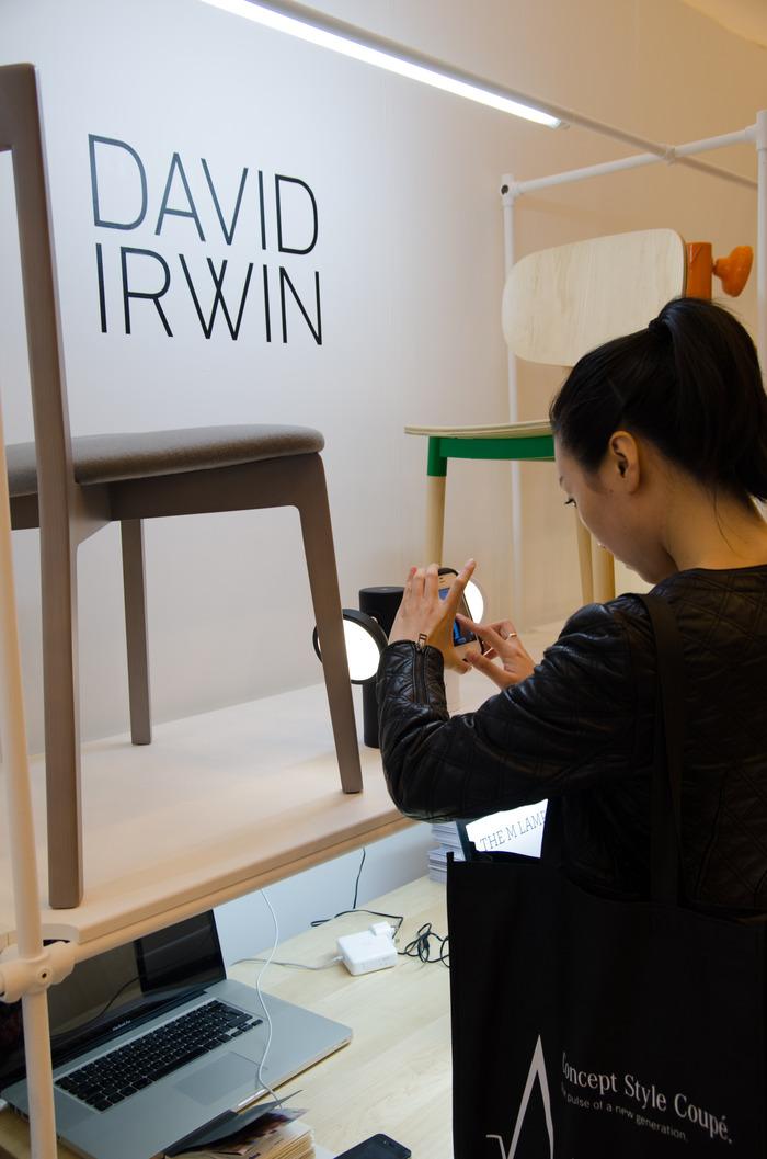 M Lamp at 100% Design London