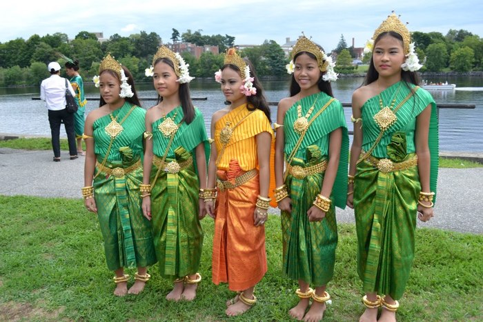 Angkor Dancers at Lowell Southeast Asian Water Festival