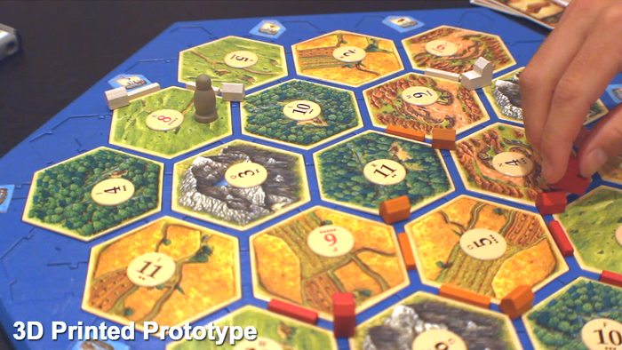 Secure Hex Tiles and Solid Frame