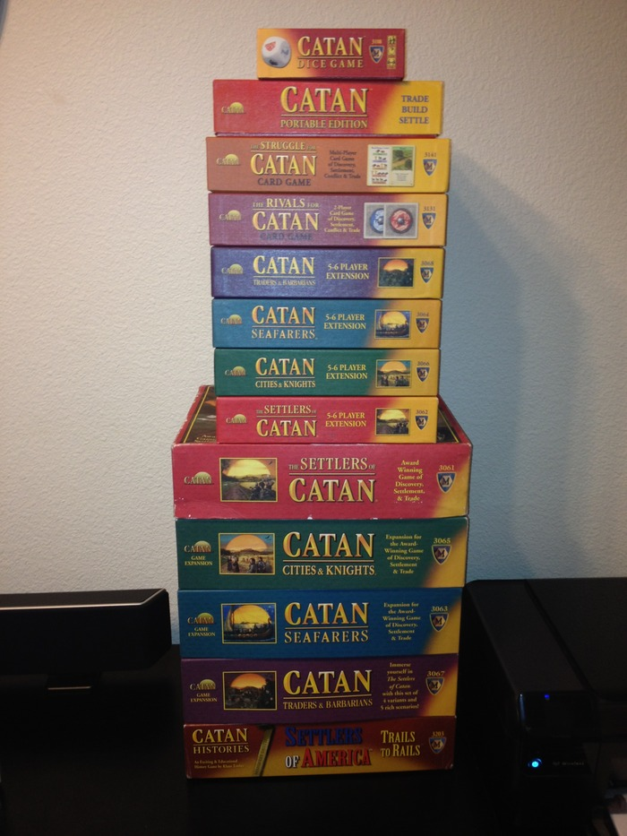 The Catan Stack of Awesomeness