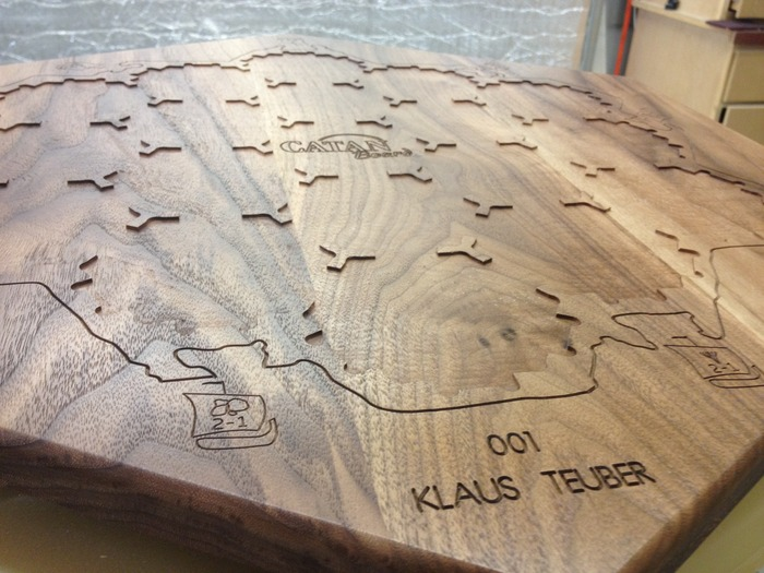 All boards are serialized and engraved with your name.