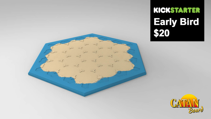 200 Early Bird 3 to 4 Player Board Pledges Available - $20