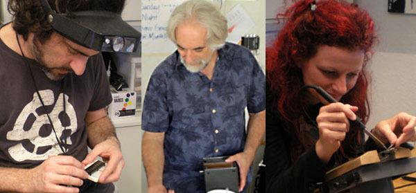 Flipbookit Team: Mark, Steve and Wendy