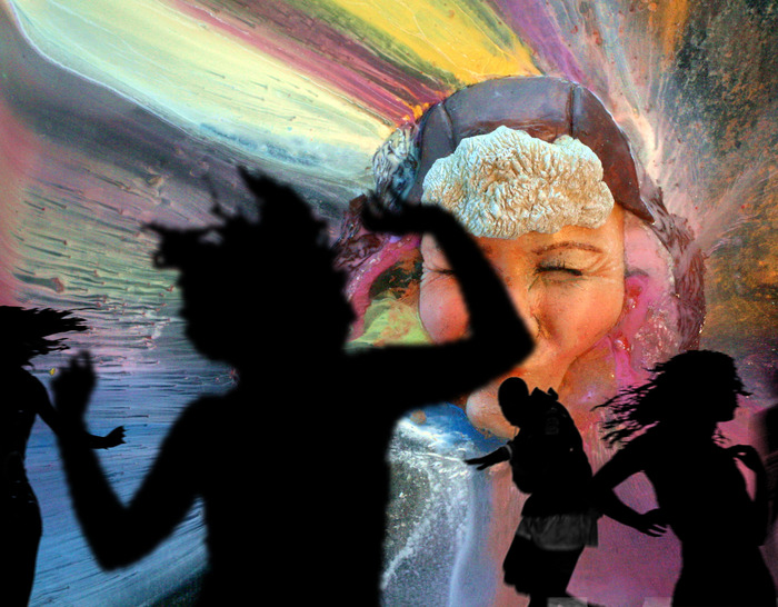 Own video art! Watch in your own home or throw a dance party with projections!