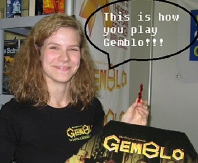 The goal is to play the most of your Gem Pieces on the board!