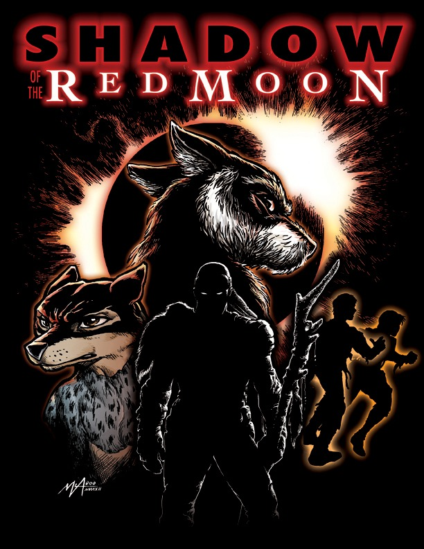 Shadow of the Red Moon Kickstarter Only Shirt front