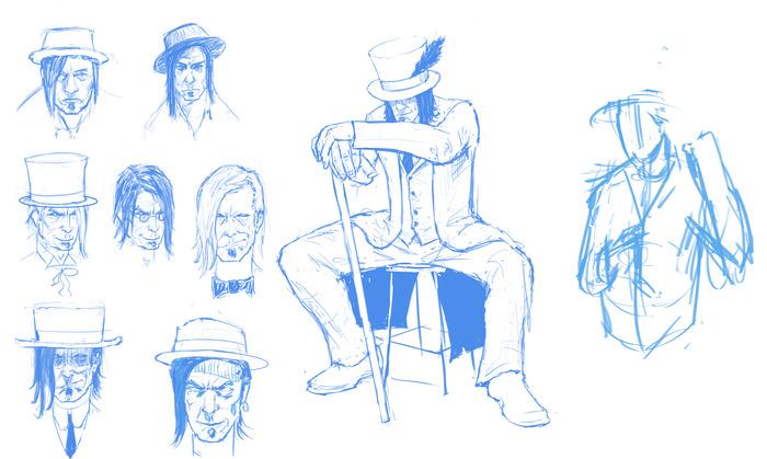 Spitz - Design Sketches