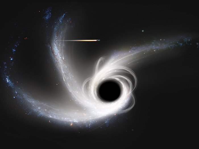 Black Hole. They might be ways to other dimensions, but you don't want to check if it's true