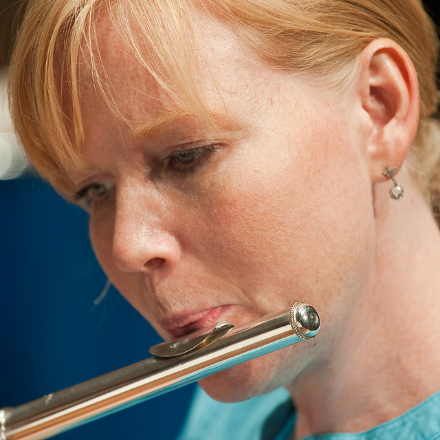 Ann Bobo, flute
