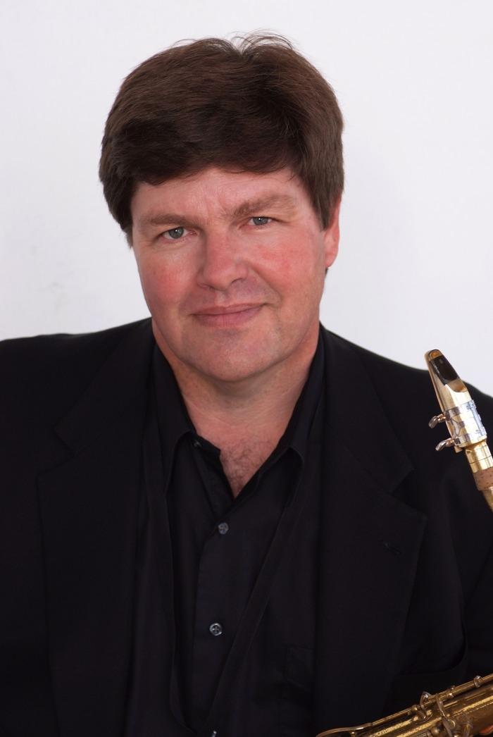 Jay Mason, baritone sax