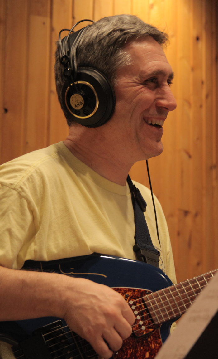 Mitch Haupers, electric guitar