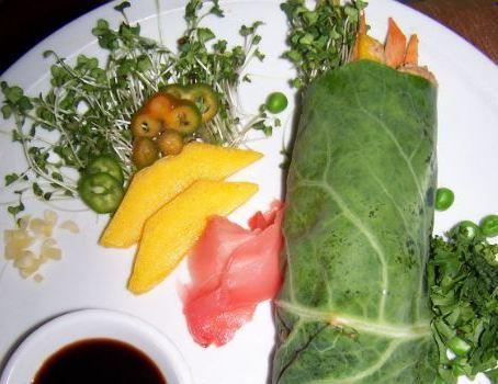 Spicy Thai Collard Wrap