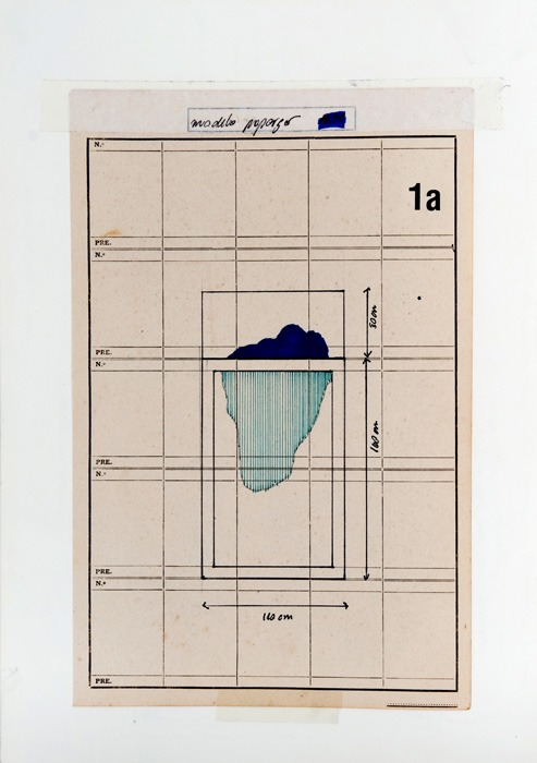 (untitled) letraset, permanent marker, pen, adhesive tapes on vintage paper. 20,5 x 29 cm (2011)