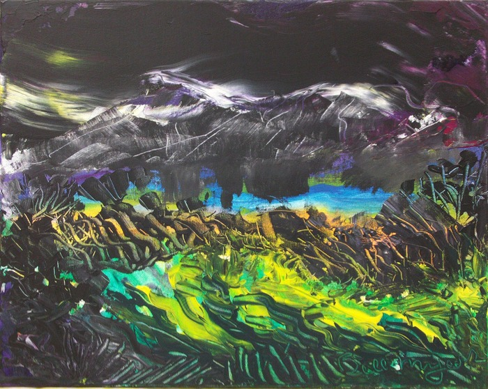Stormy Nights series of artworks by Bill Myers