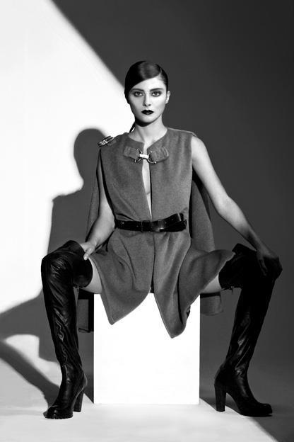 Fall 2012 Campaign (Photo: Shane LaVancher / Model: Juila Kravetz)