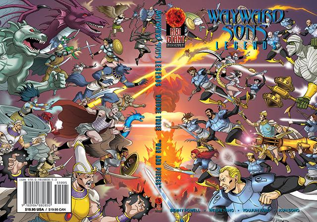 Wayward Sons Volume 3 Cover