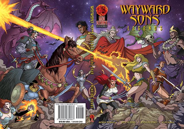 Wayward Sons Volume 4 Cover