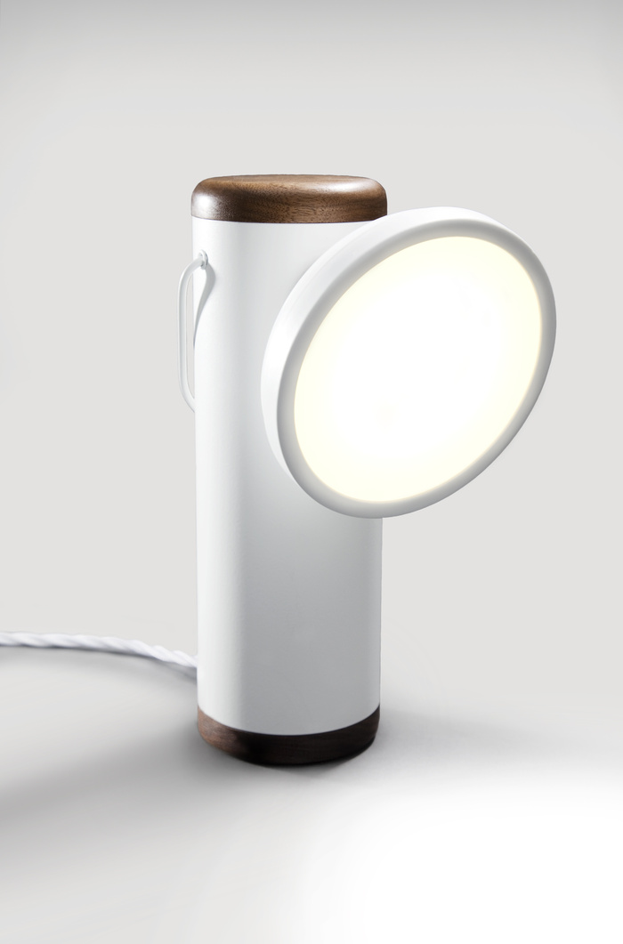 A wired version of the M Lamp only on Kickstarter $95-$110