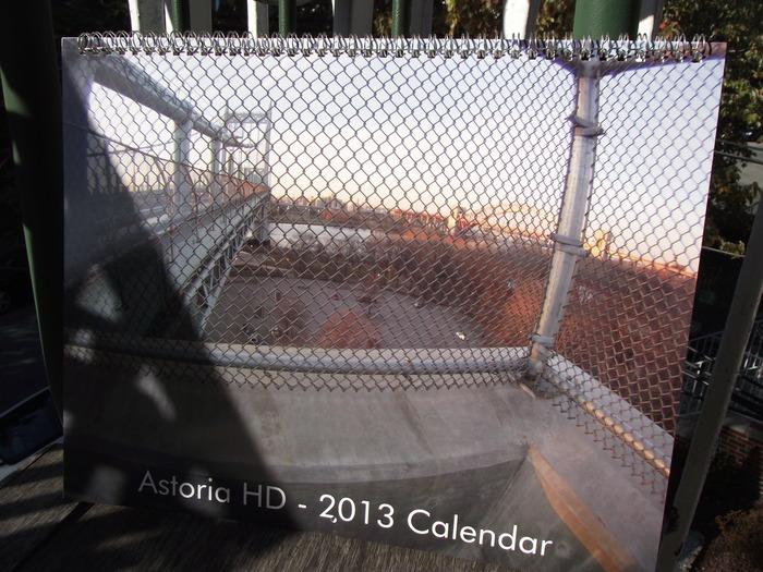 The cover for the Astoria HD 2013 Calendar