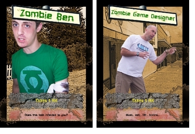 Sample Custom Zombie Cards - C'mon... you know you wanna!