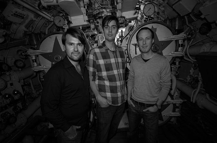 James Heath, Andrew Harmer and Liam Garvo