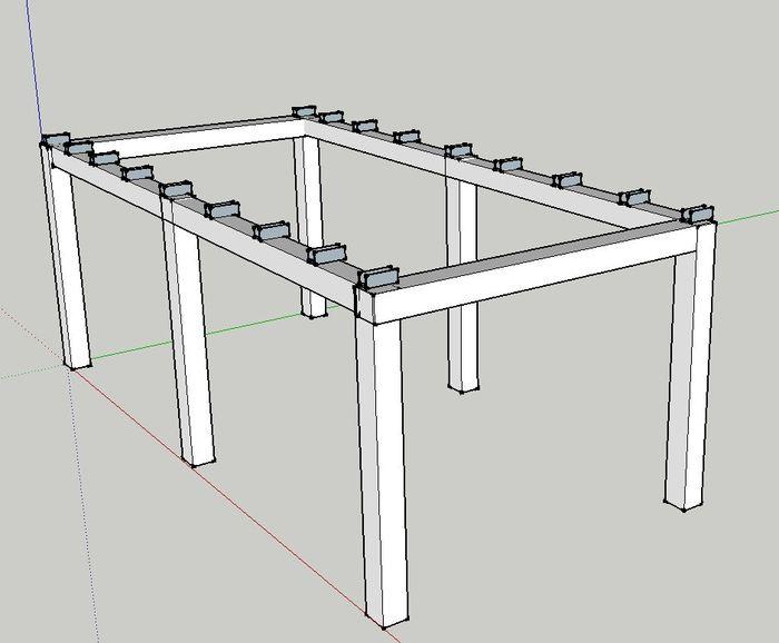 New CNC table design
