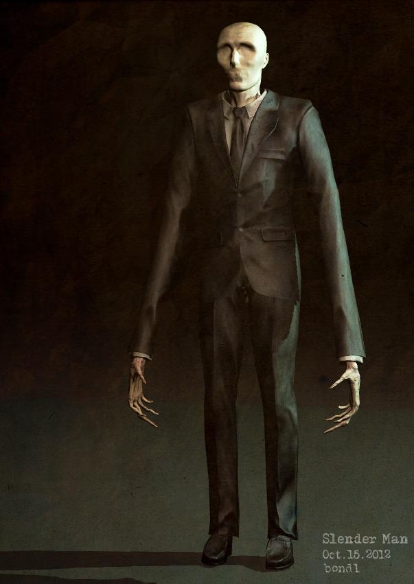 The slender - he'll make you jump!