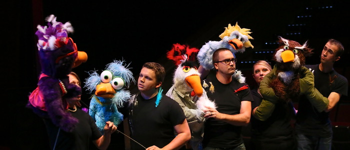 "Scene from ""Bird Call LIVE! presents One Flu Over the Cuckoo's Nest"""